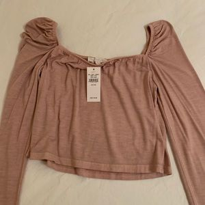 American Eagle Don't Ask Why Cropped Top